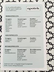 Oversigt fra Apoteket
